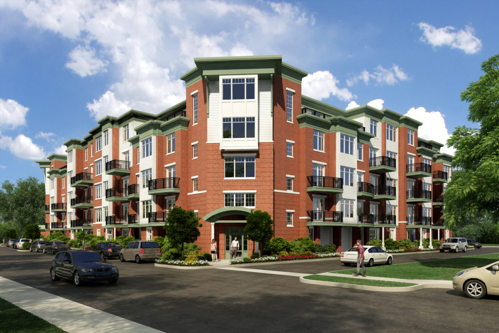 Foundry Condominiums - Wakefield, MA - Rendering by XR3D Studios